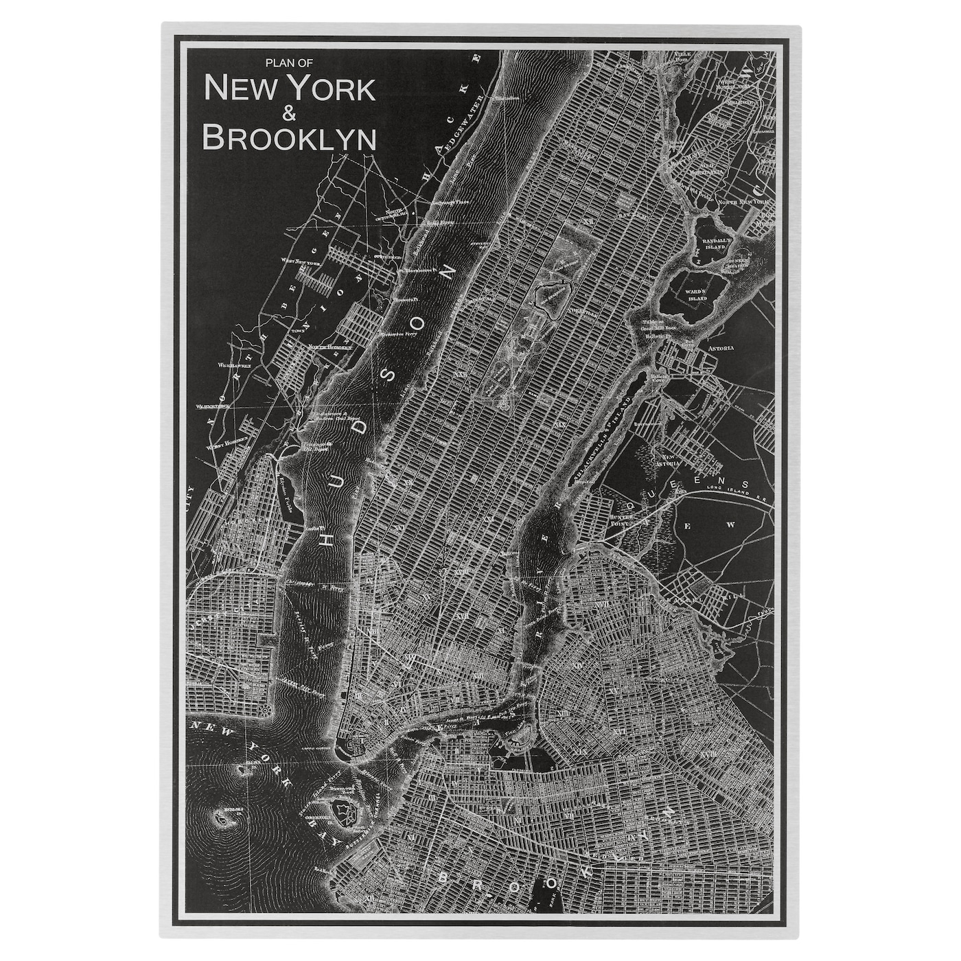 Kopparfall picture new york city 49x70 cm ikea for Ikea new york city