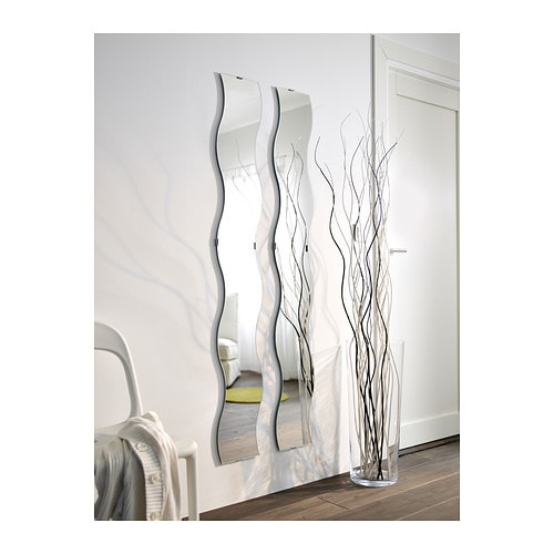 Ikea Trofast Tall Storage Unit ~ IKEA KRABB mirror Full length mirror Can be hung horizontally or