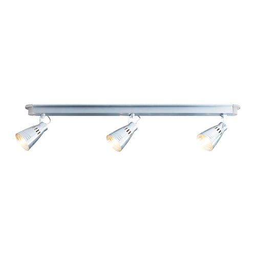KRÄMARE Ceiling track, 3-spots IKEA Adjustable spotlights.