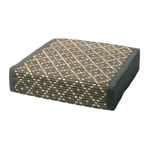 KRYDDAD Floor Cushion Diamond Pattern 45x45 Cm IKEA