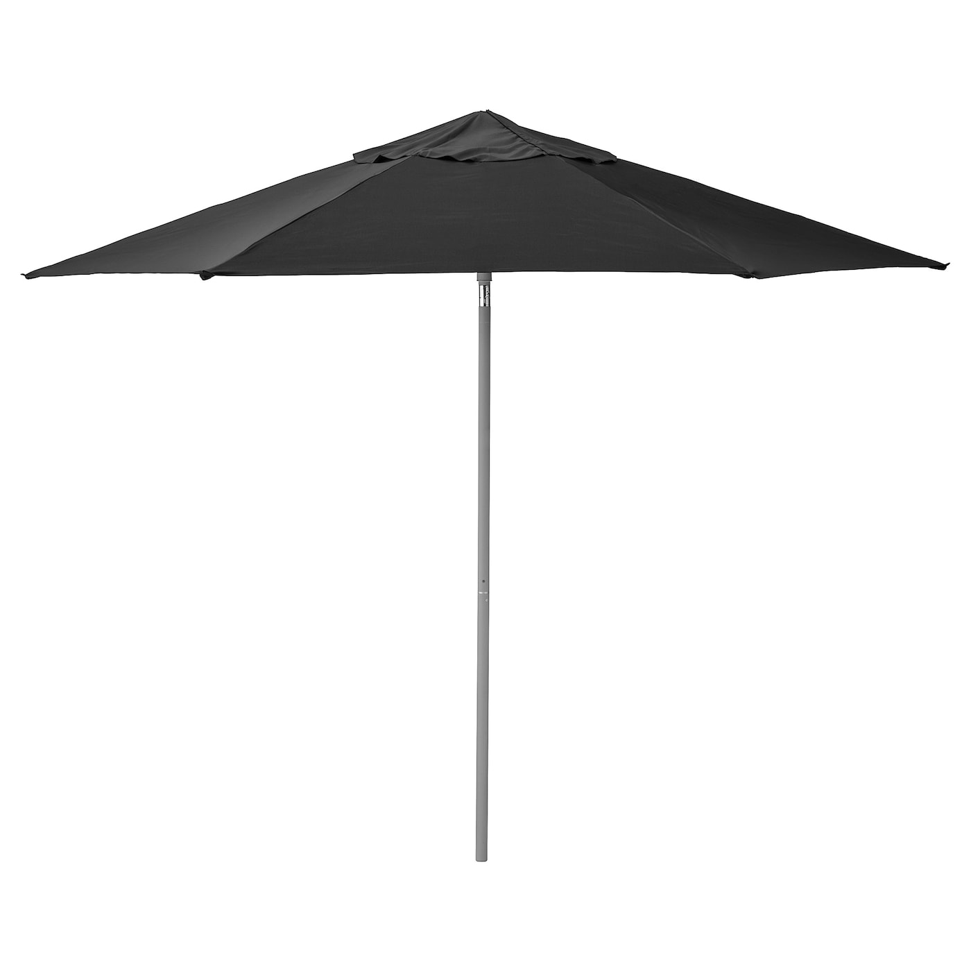 IKEA KUGGÖ/LINDÖJA parasol The colour stays fresh for longer as the fabric is fade resistant.