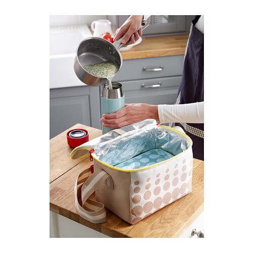 kullar lunch box light blue 23x15x8 cm ikea. Black Bedroom Furniture Sets. Home Design Ideas