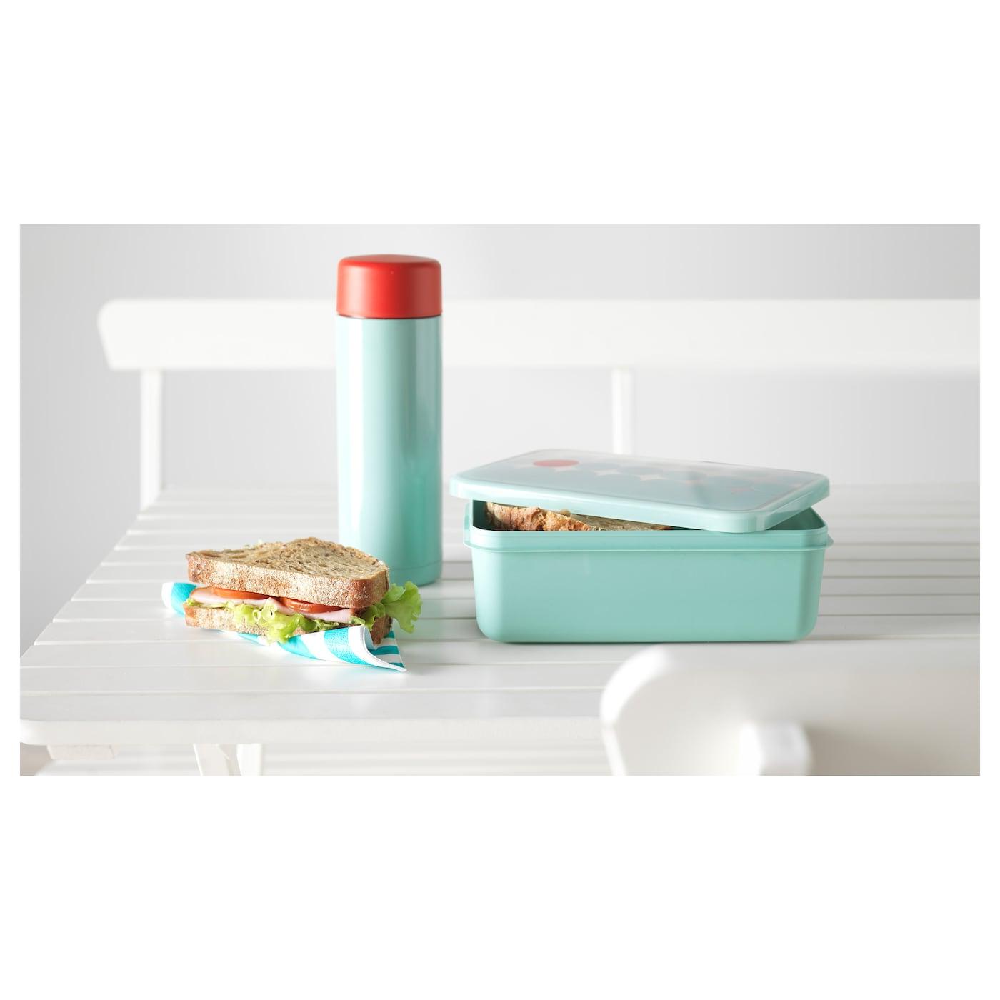 KULLAR Lunch Box Light Blue 23x15x8 Cm