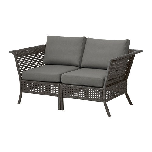IKEA KUNGSHOLMEN 2 Seat Sofa, Outdoor