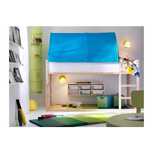 ikea kura reversible bed turned upside down the bed. Black Bedroom Furniture Sets. Home Design Ideas