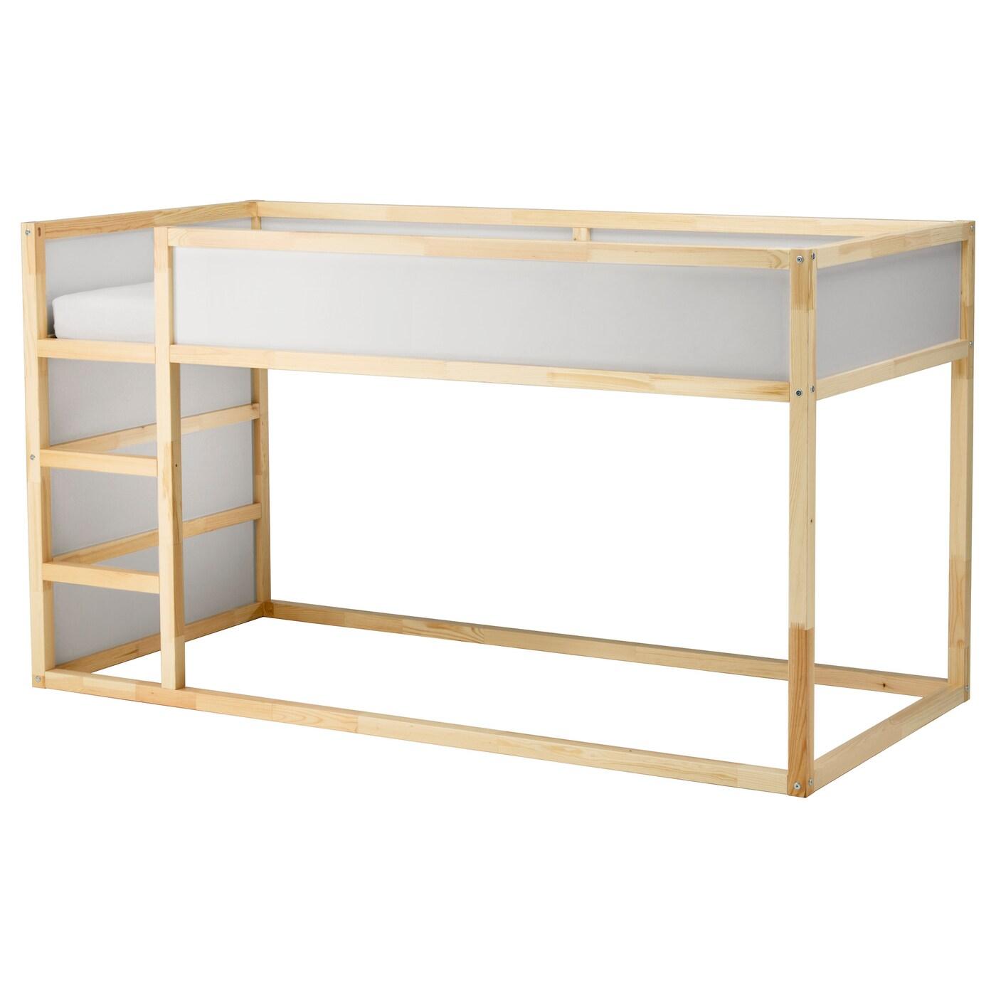 Picture of: Kura Reversible Bed White Pine 90×200 Cm Ikea Ireland