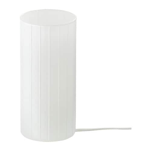 IKEA KVARNÅ table lamp The lamp gives a soft light and creates a warm, cosy atmosphere in your room.