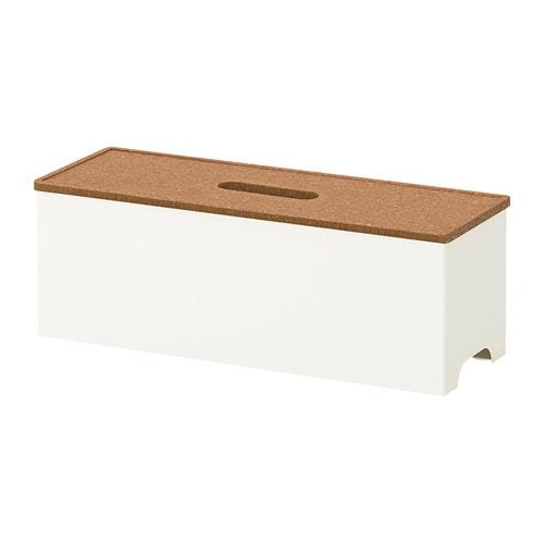 kvissle cable management box ikea. Black Bedroom Furniture Sets. Home Design Ideas