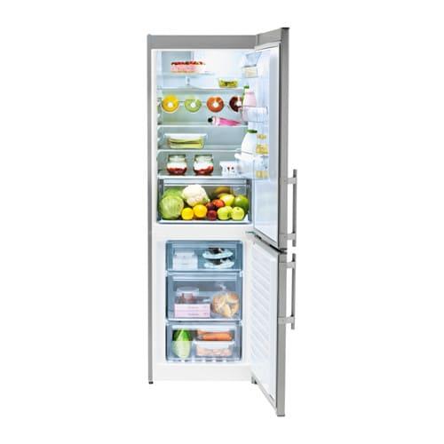 kylslagen fridge freezer stainless steel a ikea. Black Bedroom Furniture Sets. Home Design Ideas