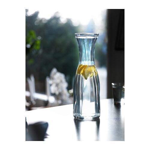 l nsam carafe clear glass 1 l ikea. Black Bedroom Furniture Sets. Home Design Ideas
