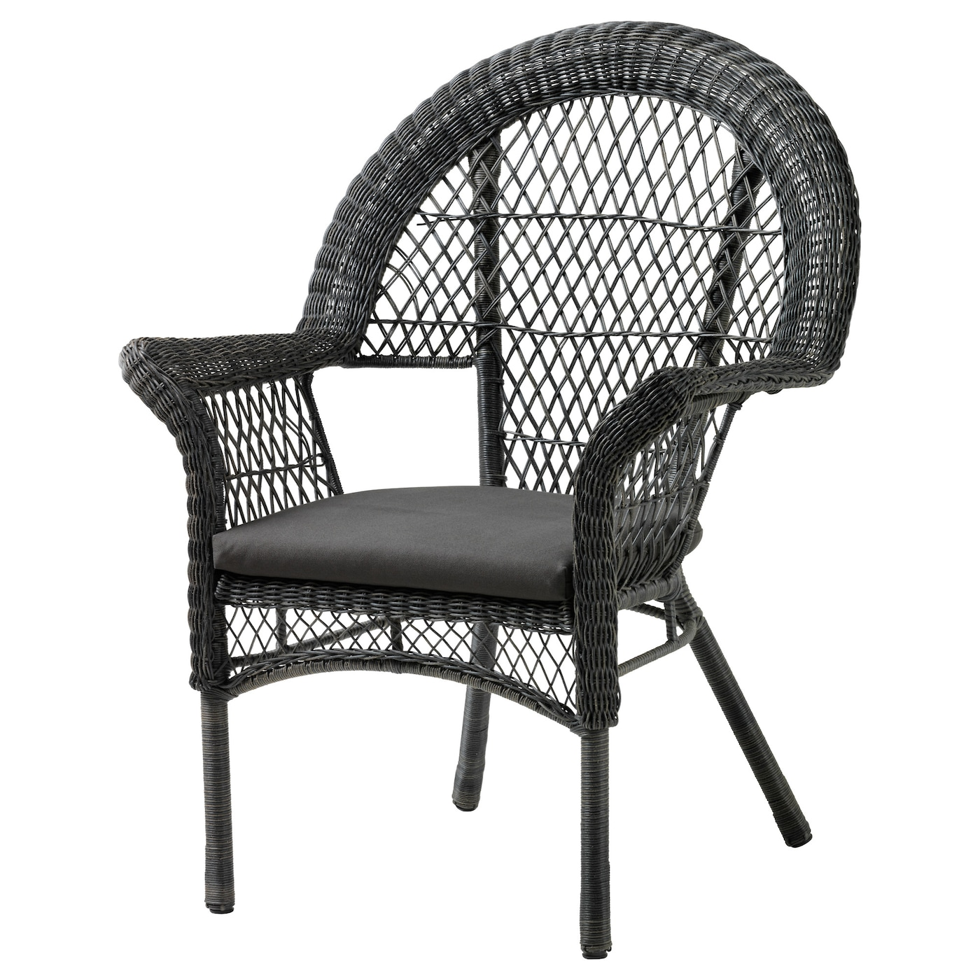 IKEA LÄCKÖ armchair with pad, outdoor