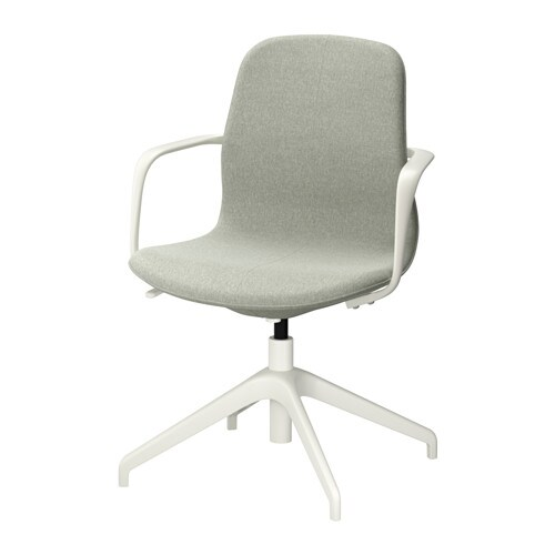 IKEA LÅNGFJÄLL swivel chair 10 year guarantee. Read about the terms in the guarantee brochure.
