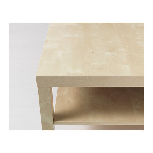 Coffee Table LACK Birch Effect