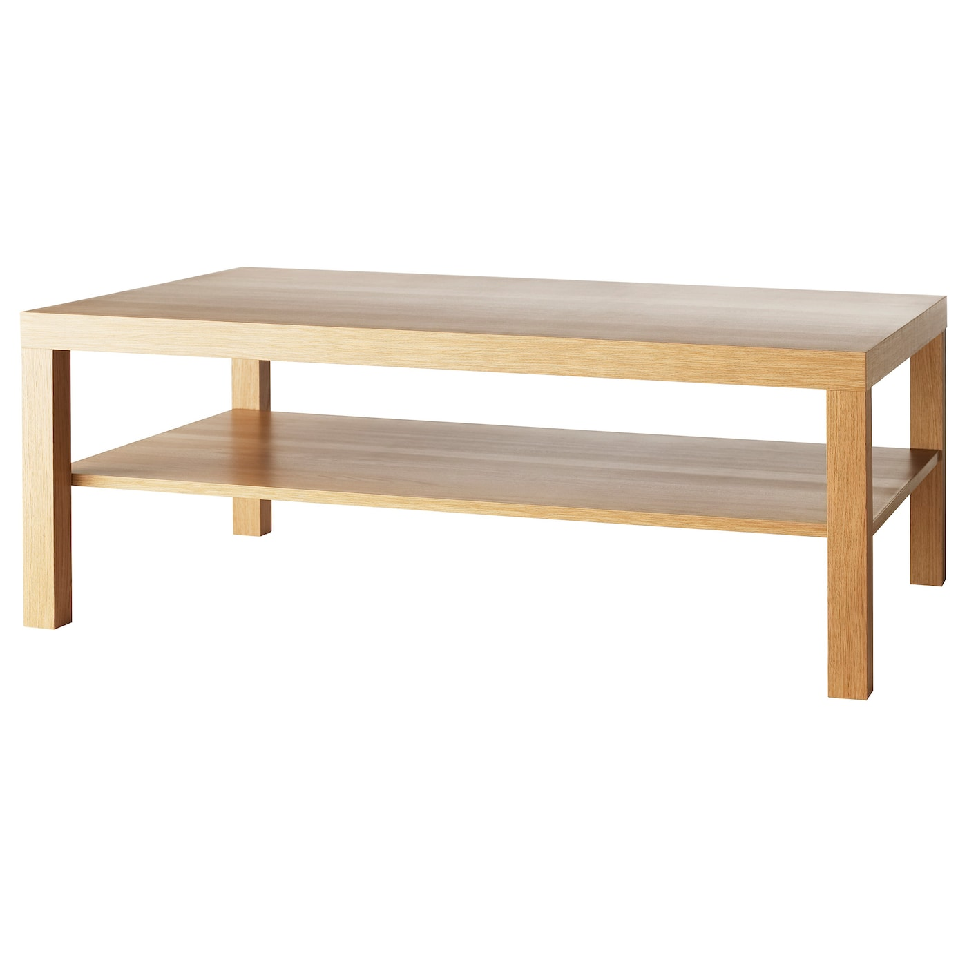 Lack coffee table oak effect 118x78 cm ikea for Ikea end tables salon