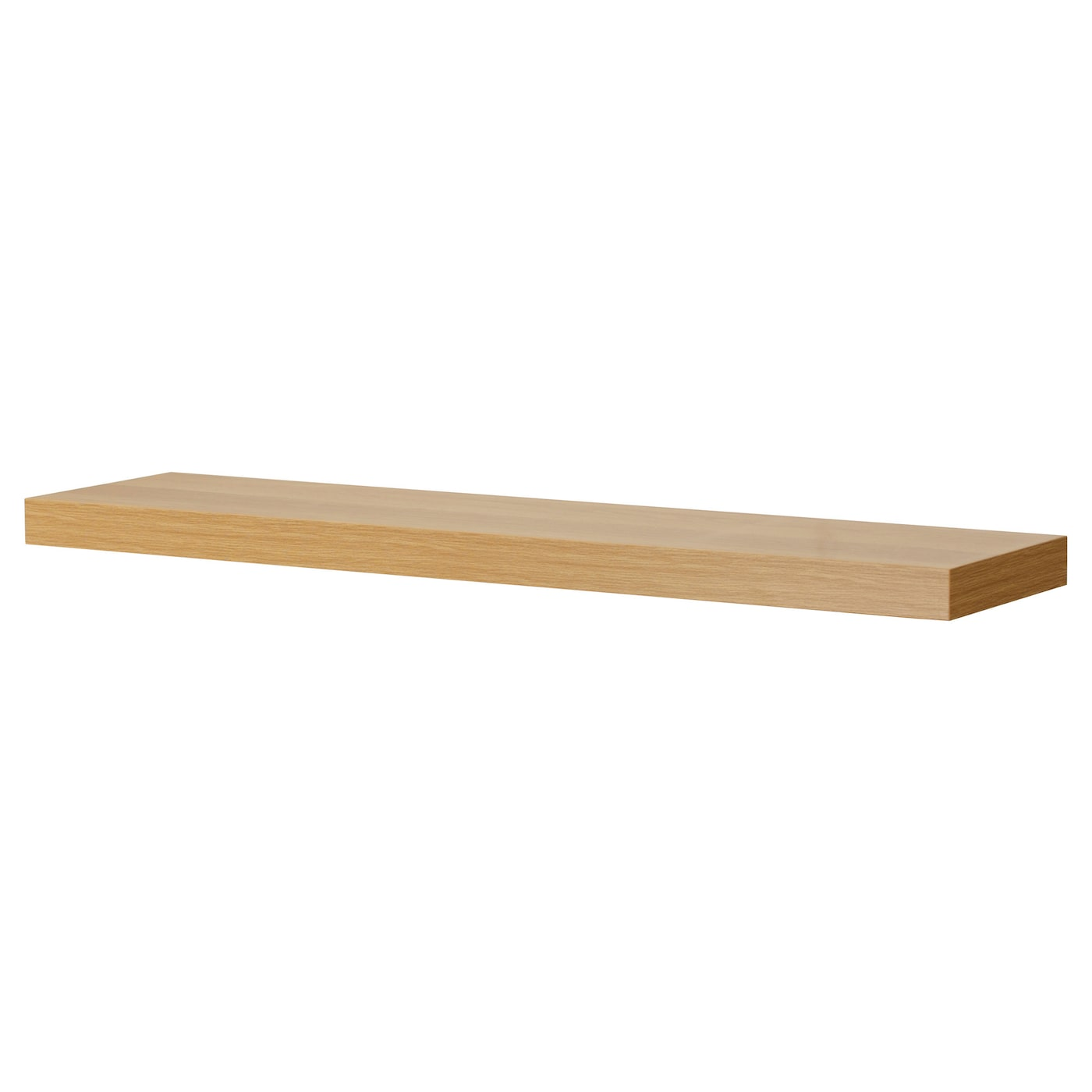 rusta hylla ek ~ lack wall shelf oak effect 110×26 cm  ikea