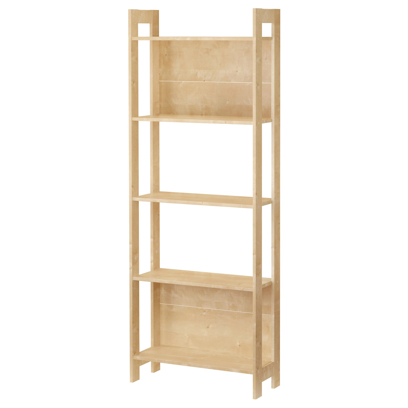 laiva bookcase birch effect 62x165 cm ikea. Black Bedroom Furniture Sets. Home Design Ideas