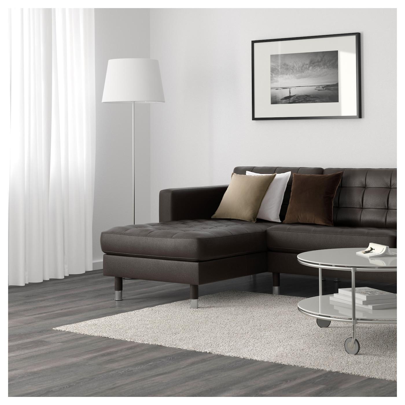 Landskrona 5 seat sofa with chaise longues grann bomstad for Chaise longue en aluminium