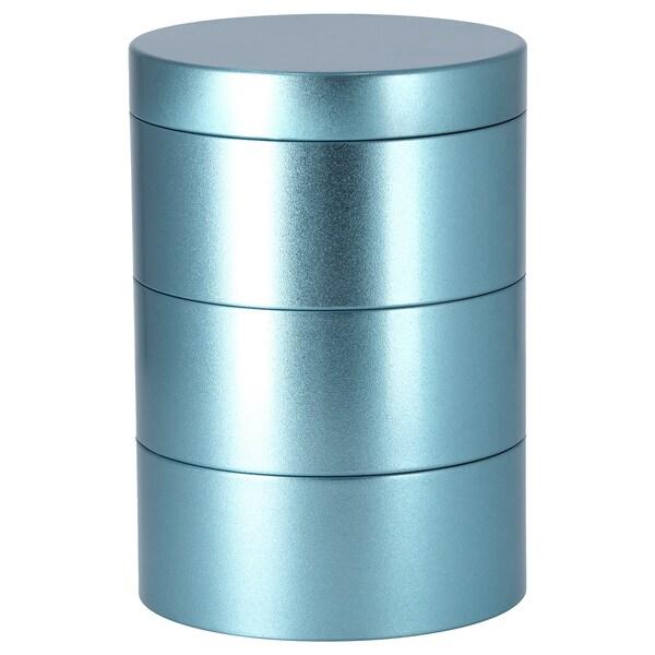 LANKMOJ decoration box blue 17 cm 12 cm