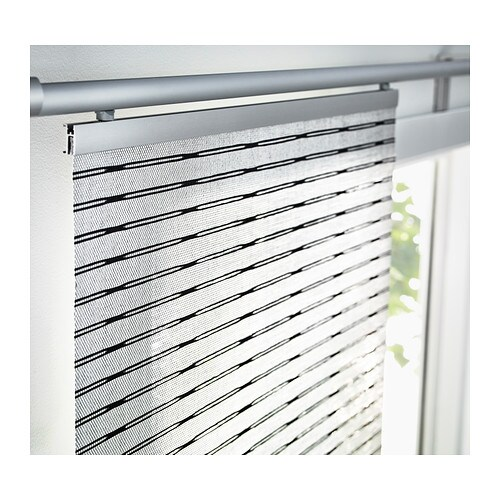 IKEA LAPPLJUNG panel curtain Can be easily cut to the desired length.