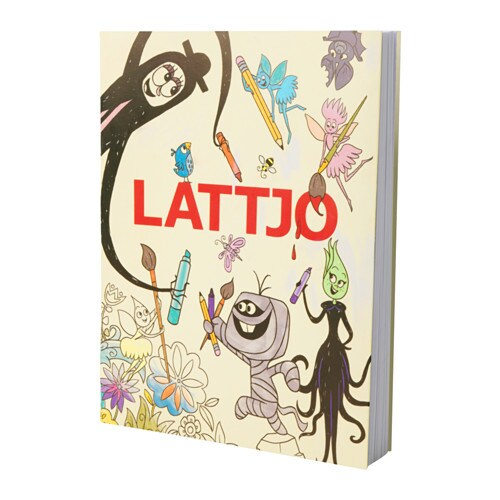 IKEA LATTJO activity book
