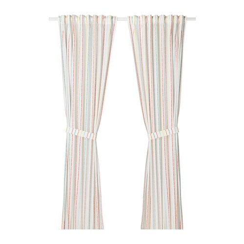 Can curtains with rings be washed in washing machine