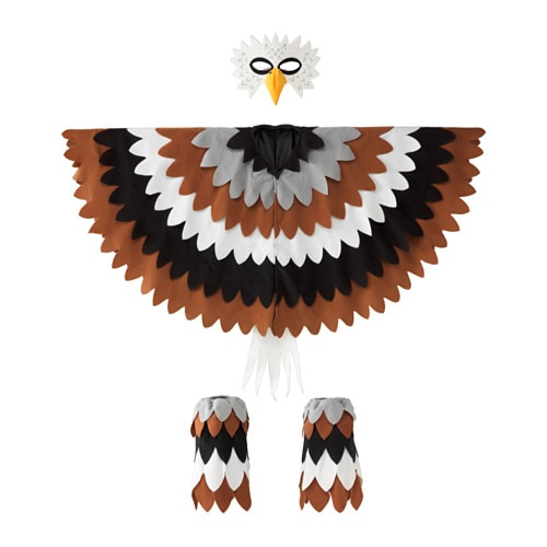 IKEA LATTJO eagle costume One size fits all, both children and adults.