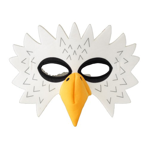 IKEA LATTJO eagle mask One size fits all, both children and adults.