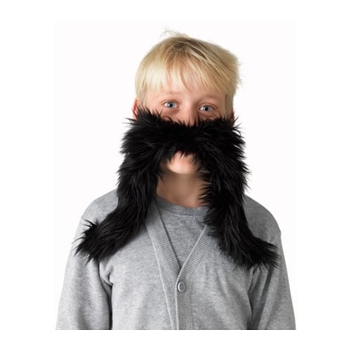 IKEA LATTJO moustache One size fits all, both children and adults.