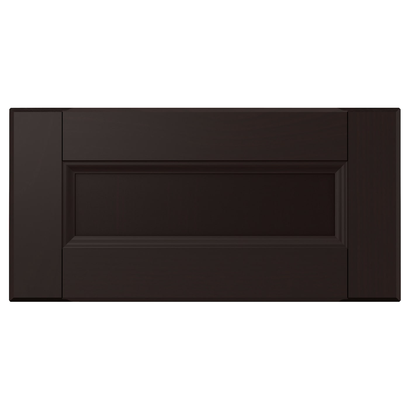 laxarby drawer front black brown 40x20 cm ikea. Black Bedroom Furniture Sets. Home Design Ideas