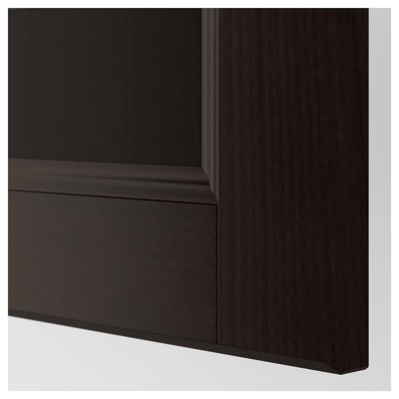 Kitchen Cabinet Door Fronts: LAXARBY Drawer Front Black-brown 80x40 Cm