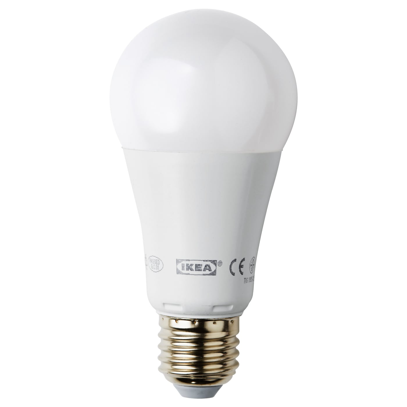 Ledare led bulb e27 1000 lumen dimmable globe opal white ikea Led bulbs
