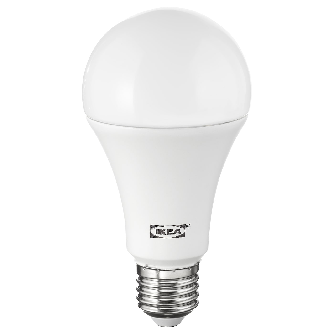 ledare led bulb e27 1600 lumen warm dimming globe opal white ikea. Black Bedroom Furniture Sets. Home Design Ideas