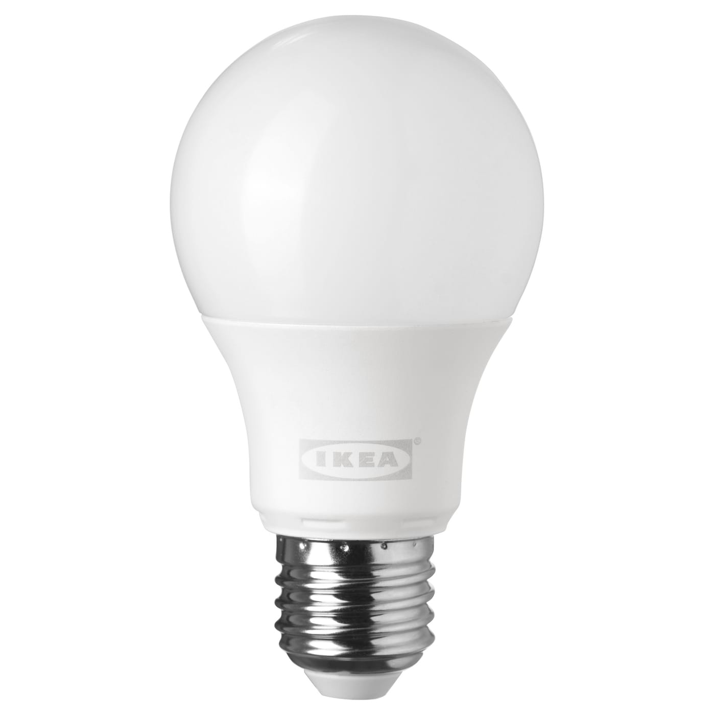 ledare led bulb e27 400 lumen dimmable globe opal white ikea. Black Bedroom Furniture Sets. Home Design Ideas