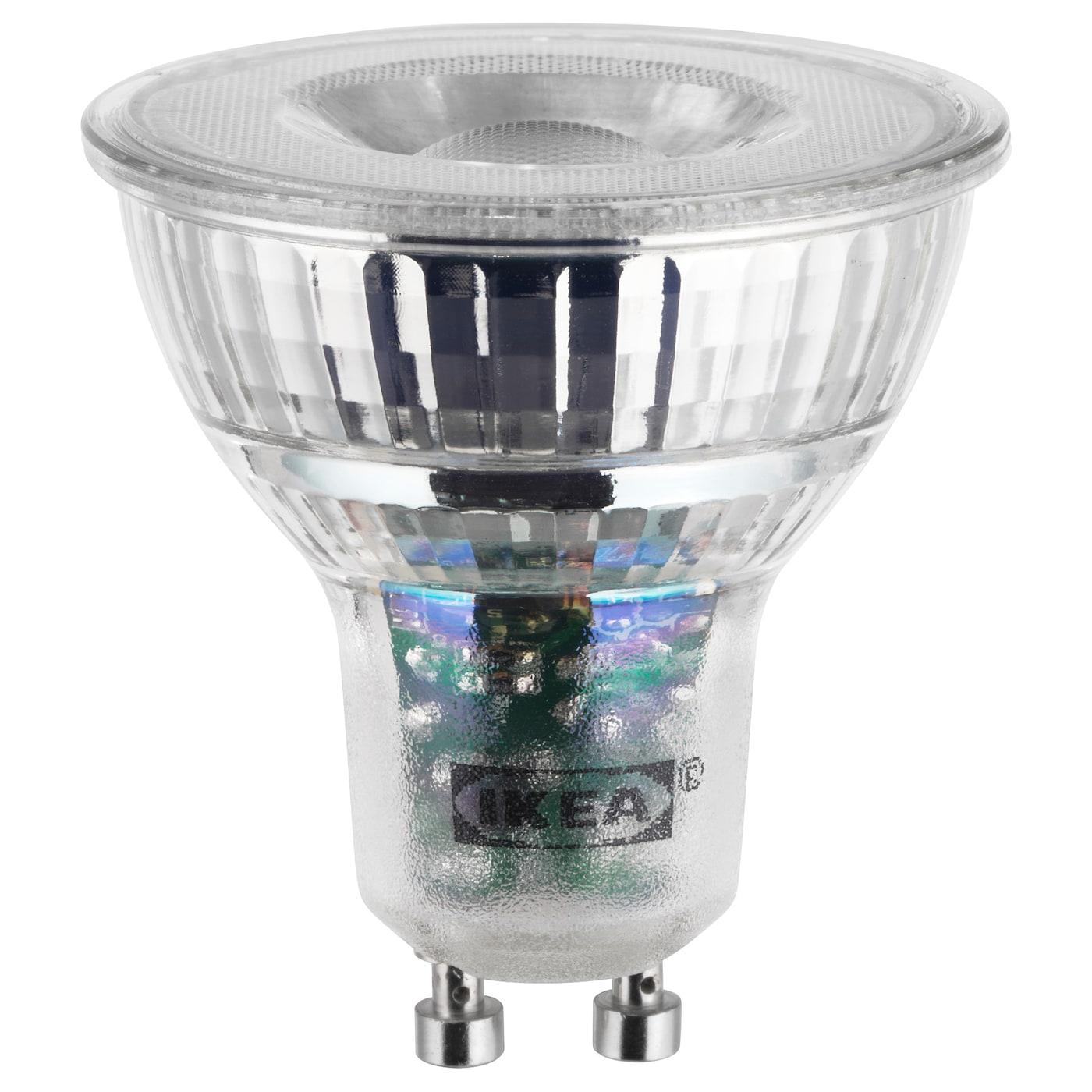 LEDARE LED bulb GU10 400 lumen Warm dimming - IKEA