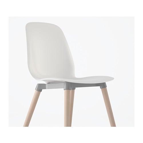 LEIFARNE Chair Whiteernfrid birch IKEA : leifarne chair white252fernfrid birch0437298pe590837s4 from www.ikea.com size 500 x 500 jpeg 14kB