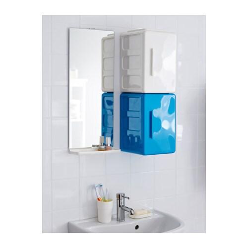 lejen mirror with shelf white 25x61 cm ikea. Black Bedroom Furniture Sets. Home Design Ideas
