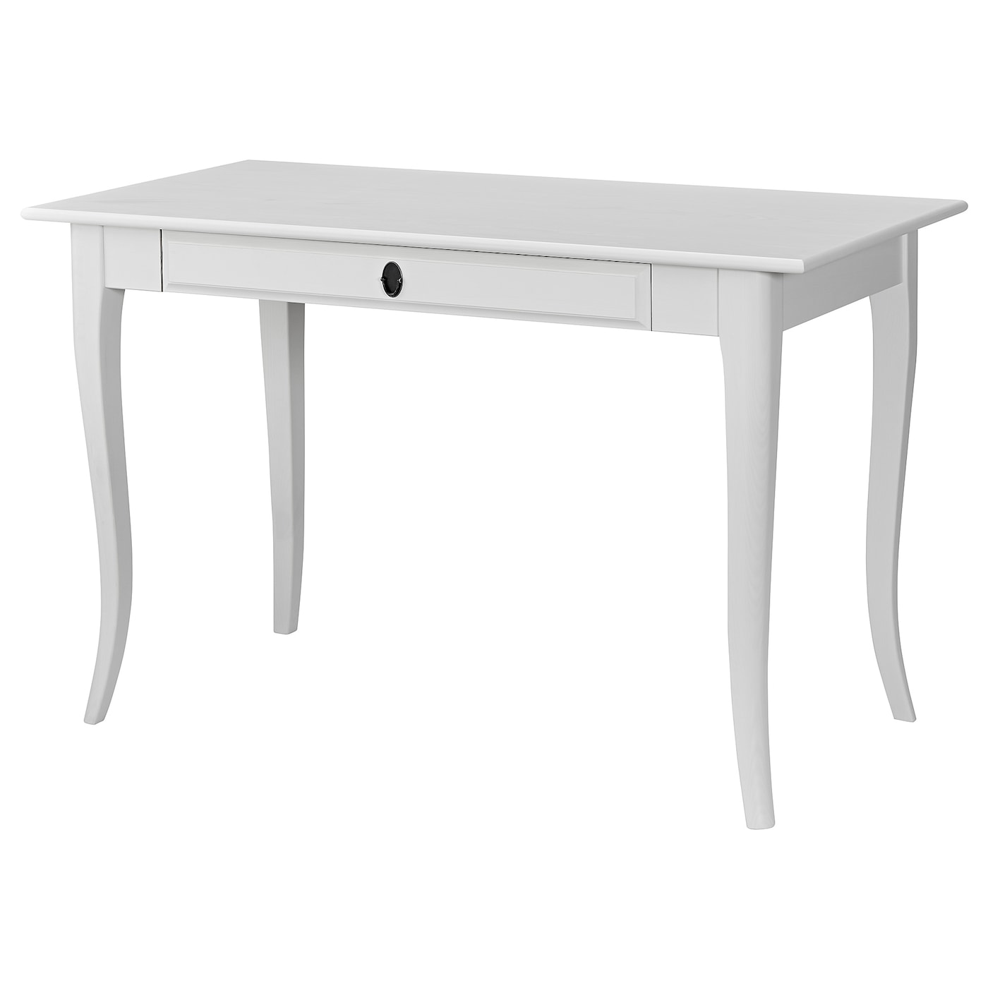 IKEA LEKSVIK desk Solid wood is a durable natural material.