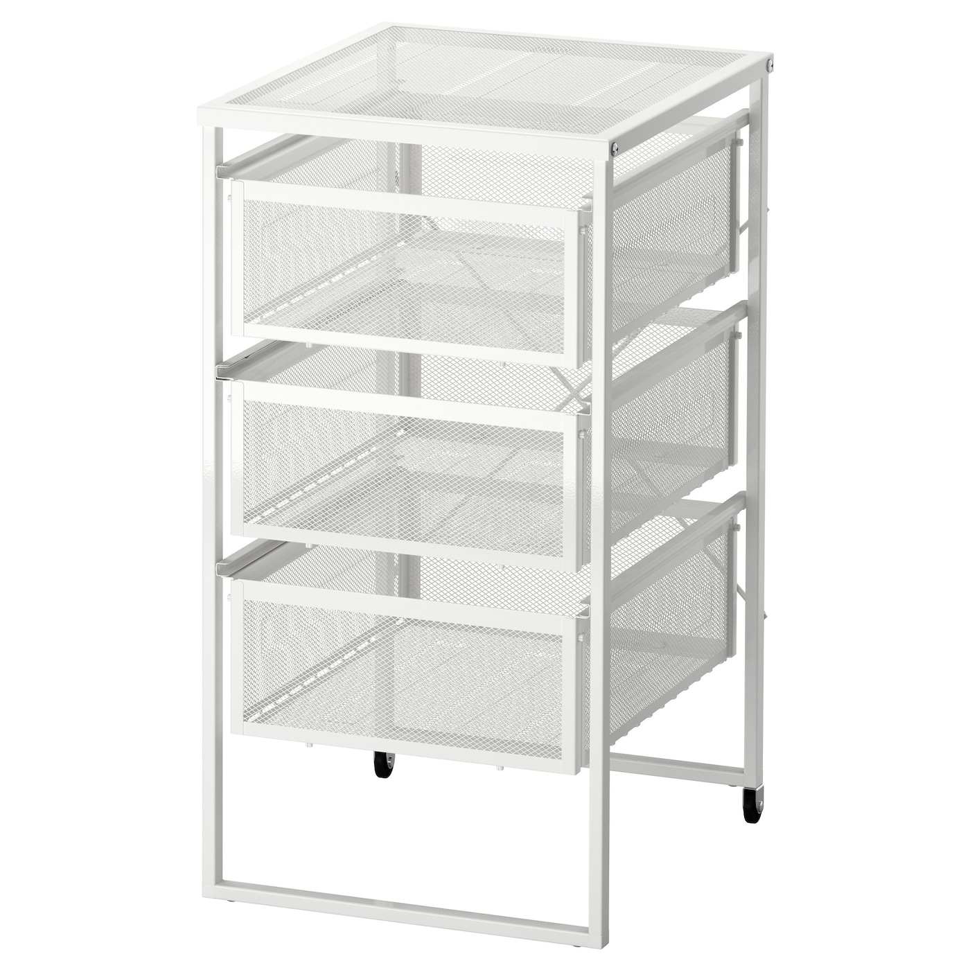 Lennart drawer unit white ikea for Mueble cajonera ikea