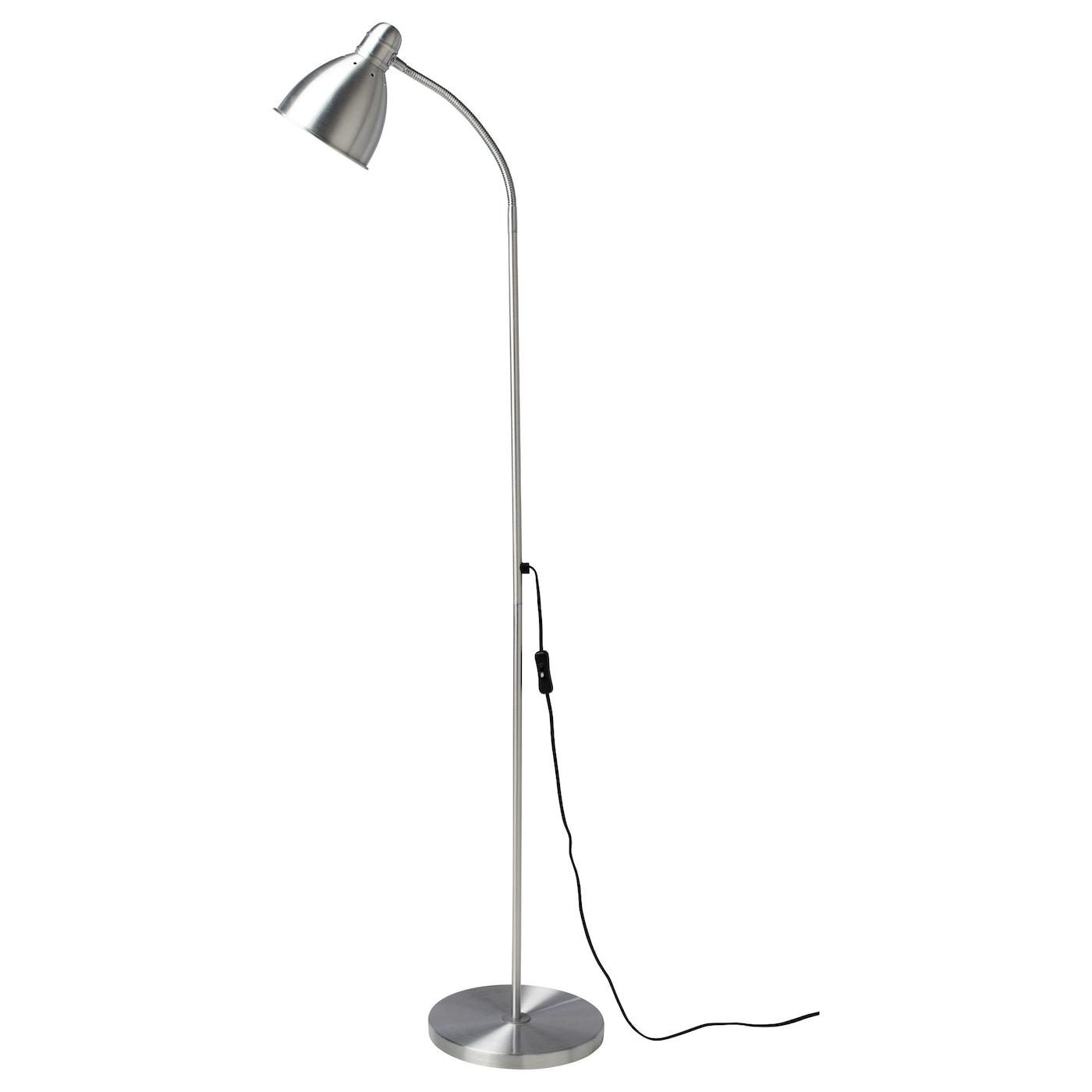 Led lighting lights at ikea ireland dublin for Touch floor reading lamp