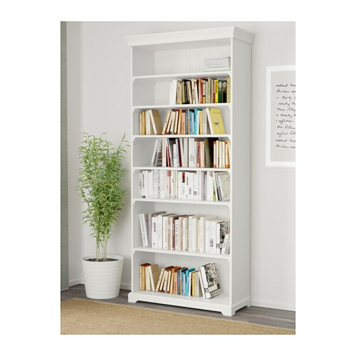 IKEA LIATORP bookcase The shelves are adjustable so you can customise your storage as needed.