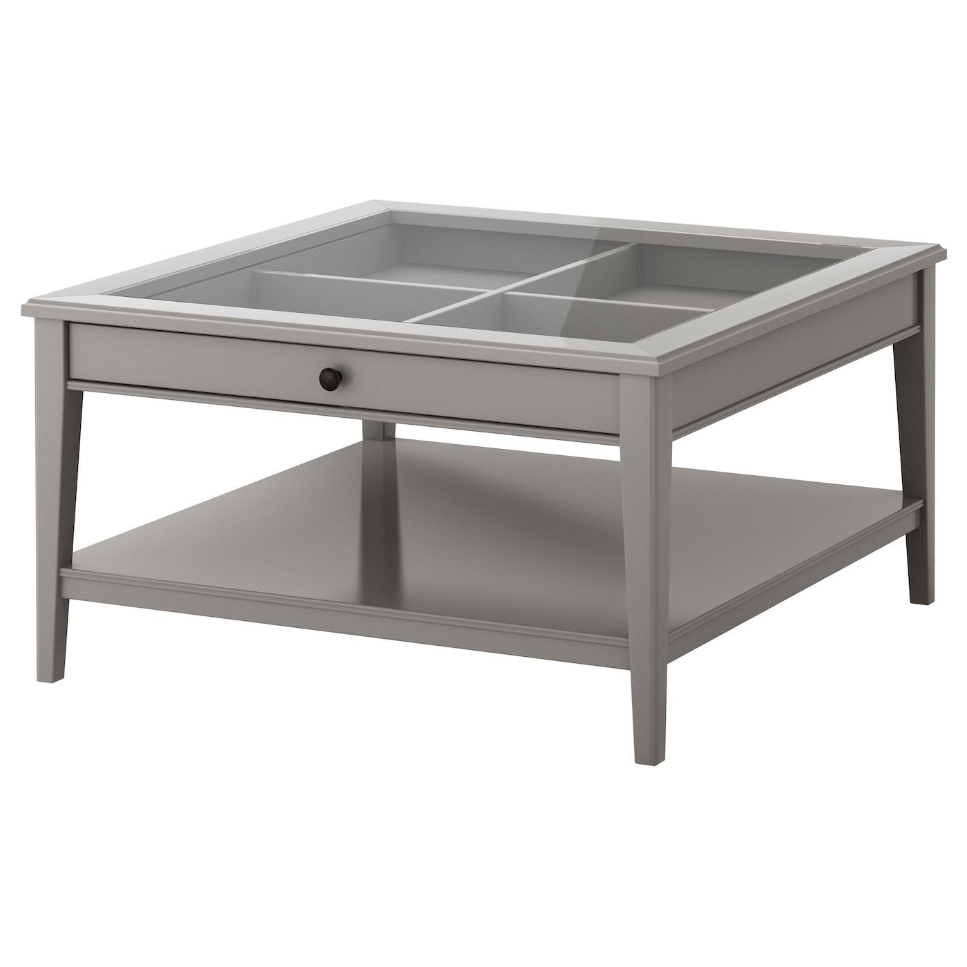 Liatorp Coffee Table Grey Glass 93x93 Cm Ikea Ireland [ 1400 x 1400 Pixel ]