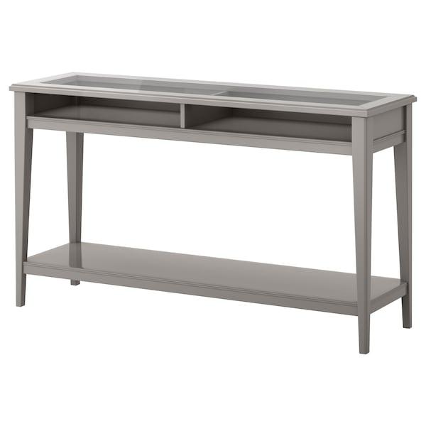 Liatorp Console Table Grey Gl Ikea