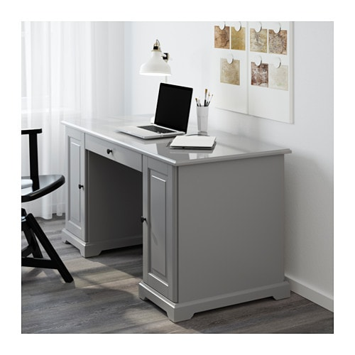 liatorp desk grey 145x65 cm ikea. Black Bedroom Furniture Sets. Home Design Ideas