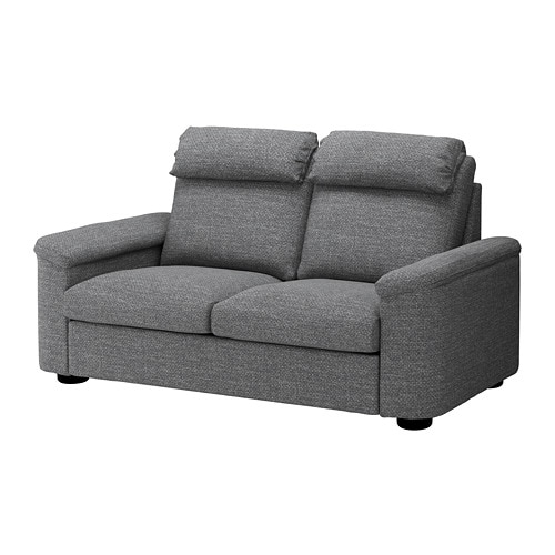 LIDHULT 40seat Sofa Lejde Greyblack IKEA Best Clear Plastic Throw Pillow Covers