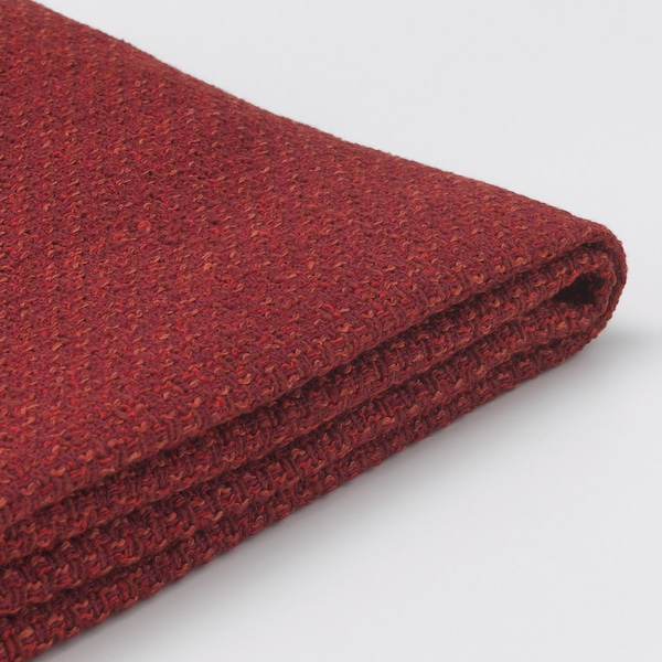 LIDHULT Cover for 3-seat section, Lejde red-brown