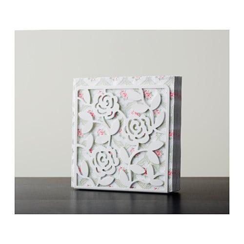 Liksidig napkin holder white 16x16 cm ikea - Porte serviettes ikea ...