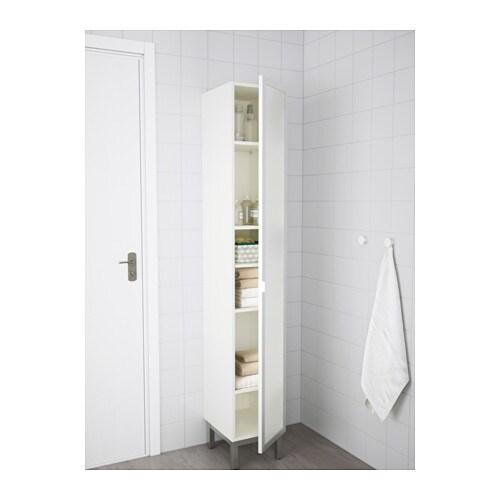 lill ngen high cabinet white aluminium 30x38x179 cm ikea. Black Bedroom Furniture Sets. Home Design Ideas