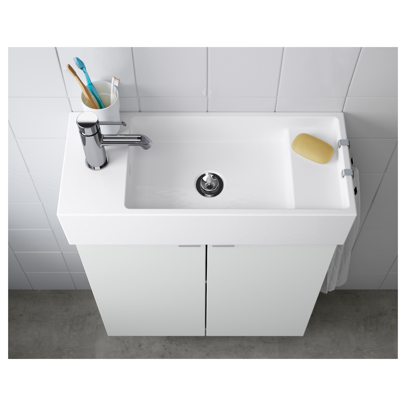Ikea LillÅngen Single Wash Basin 10 Year Guarantee Read About The Terms In