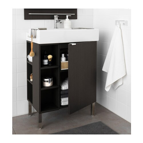 IKEA LILLÅNGEN washbasin cab 1 door/2 end units