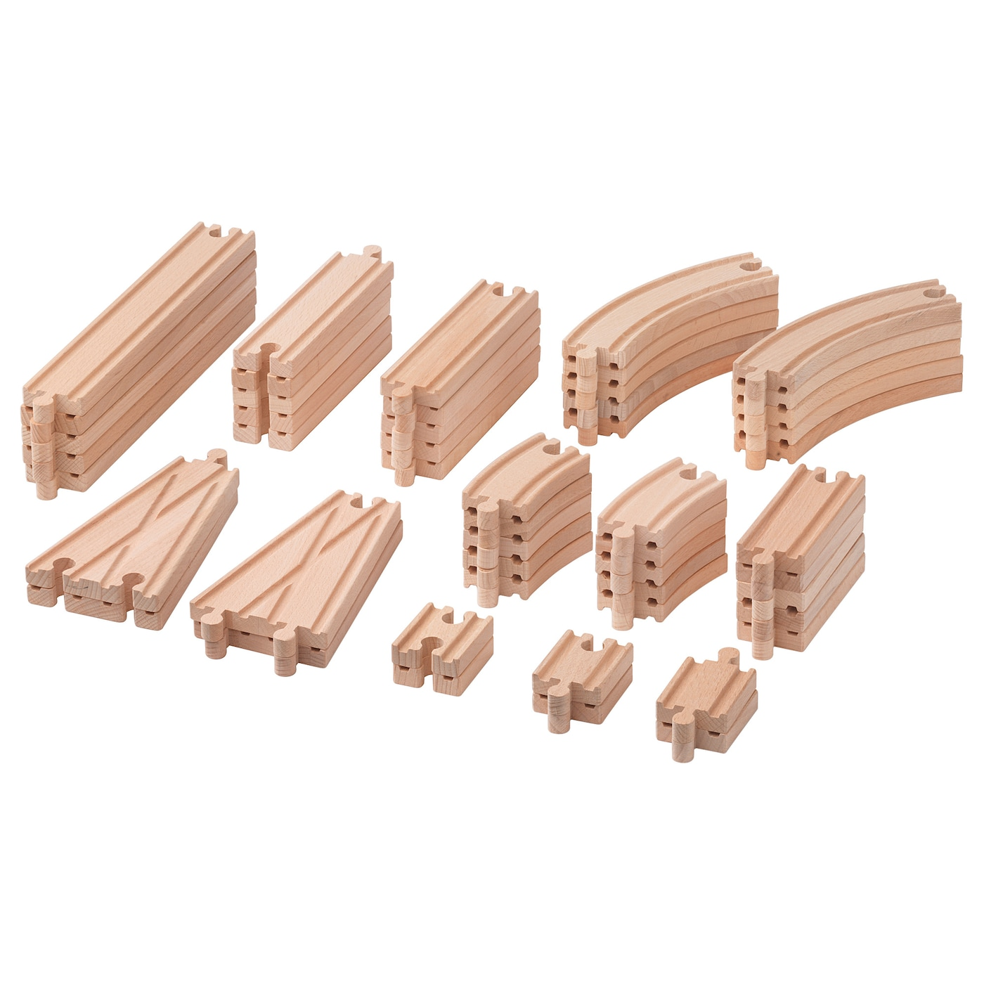 IKEA LILLABO 50-piece rail set Combines with most other railway systems on the market.